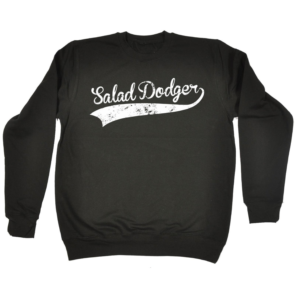 123t  Salad Dodger - SWEATSHIRT Funny Christmas Casual Birthday Top, 123t