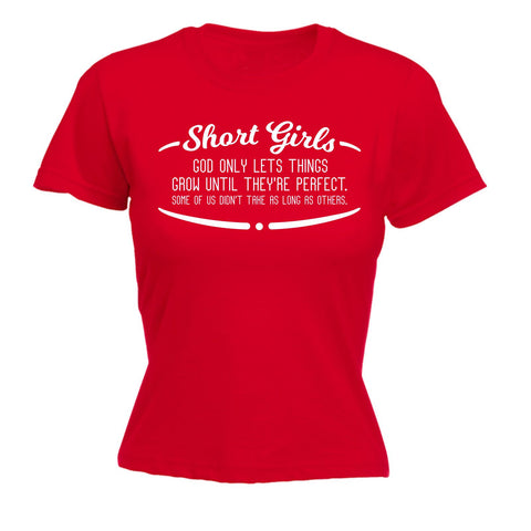 123t Women's Short Girls Perfect Take As Long As Others Funny T-Shirt