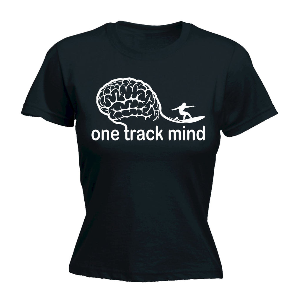 123t Women's One Track Mind - FITTED T-SHIRT