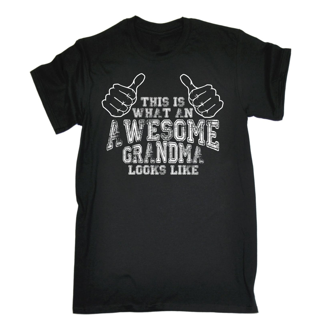 123t Men's This Is What An Awesome Grandma Looks Like Funny T-Shirt
