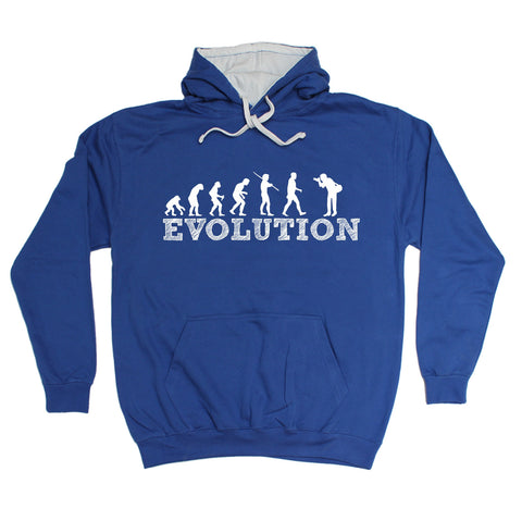 123t Evolution Photographer Funny Hoodie
