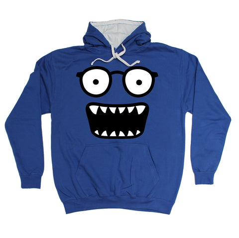 123t Glasses Monster Funny Hoodie