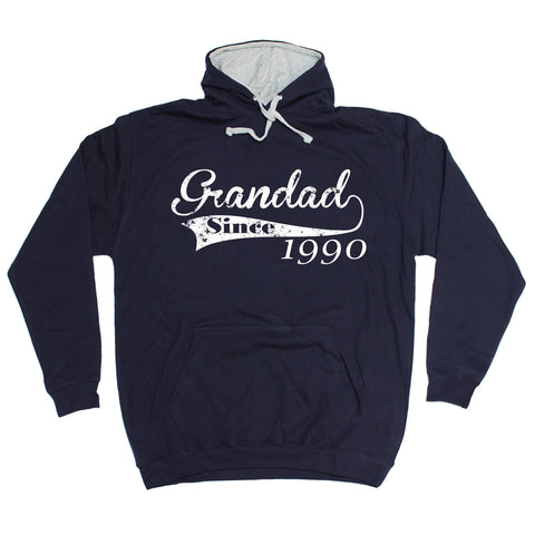 123t Grandad Since ... Any Year Funny Hoodie