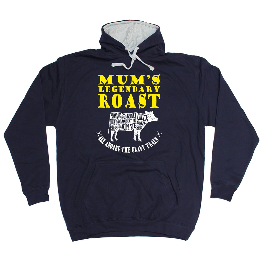 Buy 123t Mum's Legendary Roast Funny Hoodie at 123t T-Shirts & Hoodies for  only £18 99