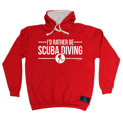 Open Water I'd Rather be Scuba Diving Hoodie