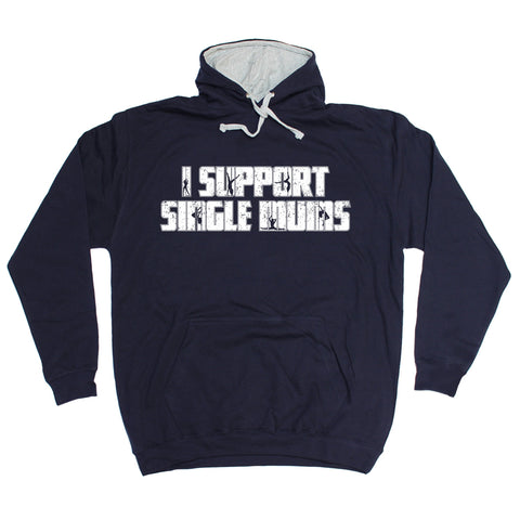 123t I Support Single Mums Funny Hoodie - 123t clothing gifts presents
