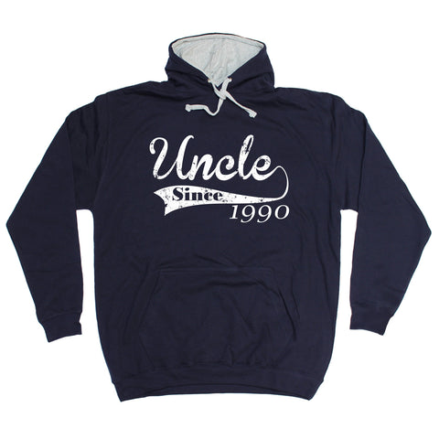 123t Uncle Since ... Any Year Funny Hoodie