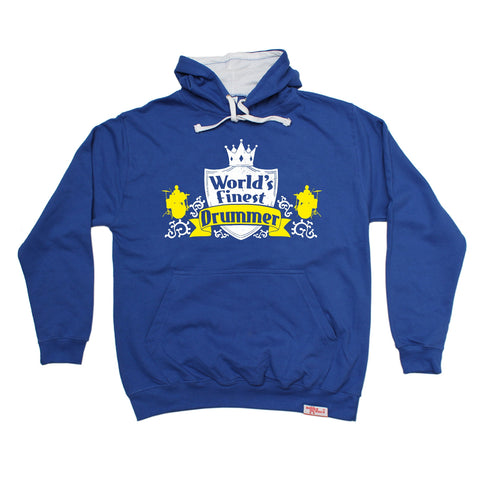 Banned Member World's Finest Drummer Drumming Hoodie