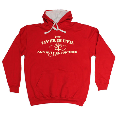 123t The Liver Is Evil And Must Be Punished - HOODIE