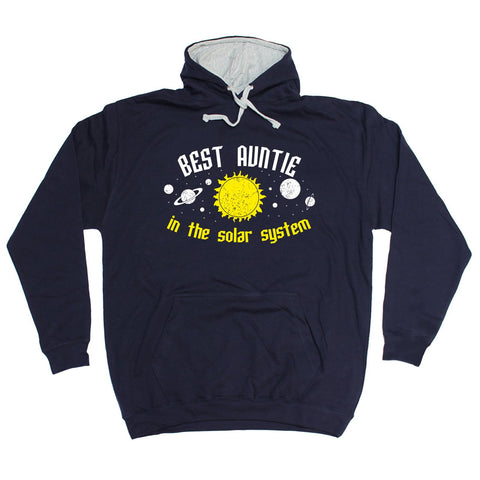 123t Best Auntie In The Solar System - HOODIE