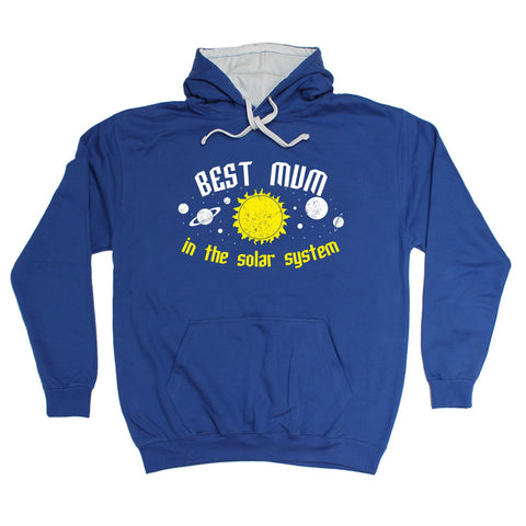 123t Best Mum In the Solar System - HOODIE - 123t clothing gifts presents