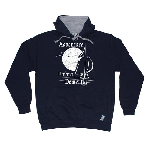 Ocean Bound Adventure Before Dementia Sailing Hoodie