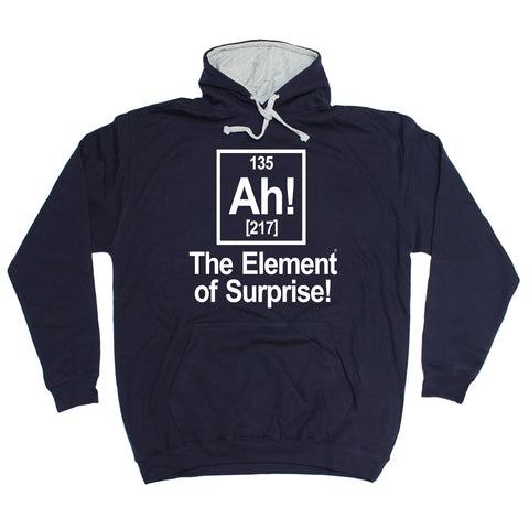 123t Ah! The Element Of Surprise Funny Hoodie