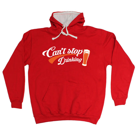 123t Can't Stop Drinking Funny Hoodie