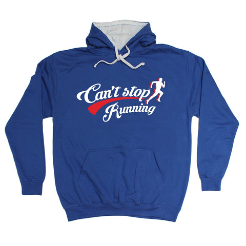 123t Can't Stop Running Funny Hoodie