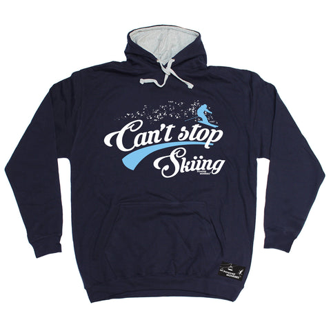 Powder Monkeez Can't Stop Skiing Ski Hoodie