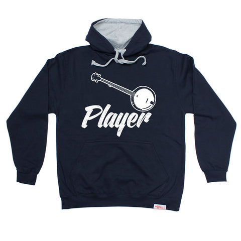 Banned Member Banjo Player Guitar Hoodie