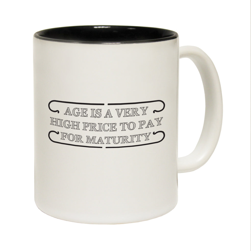 123T Funny Mugs - Age High Price - Coffee Cup
