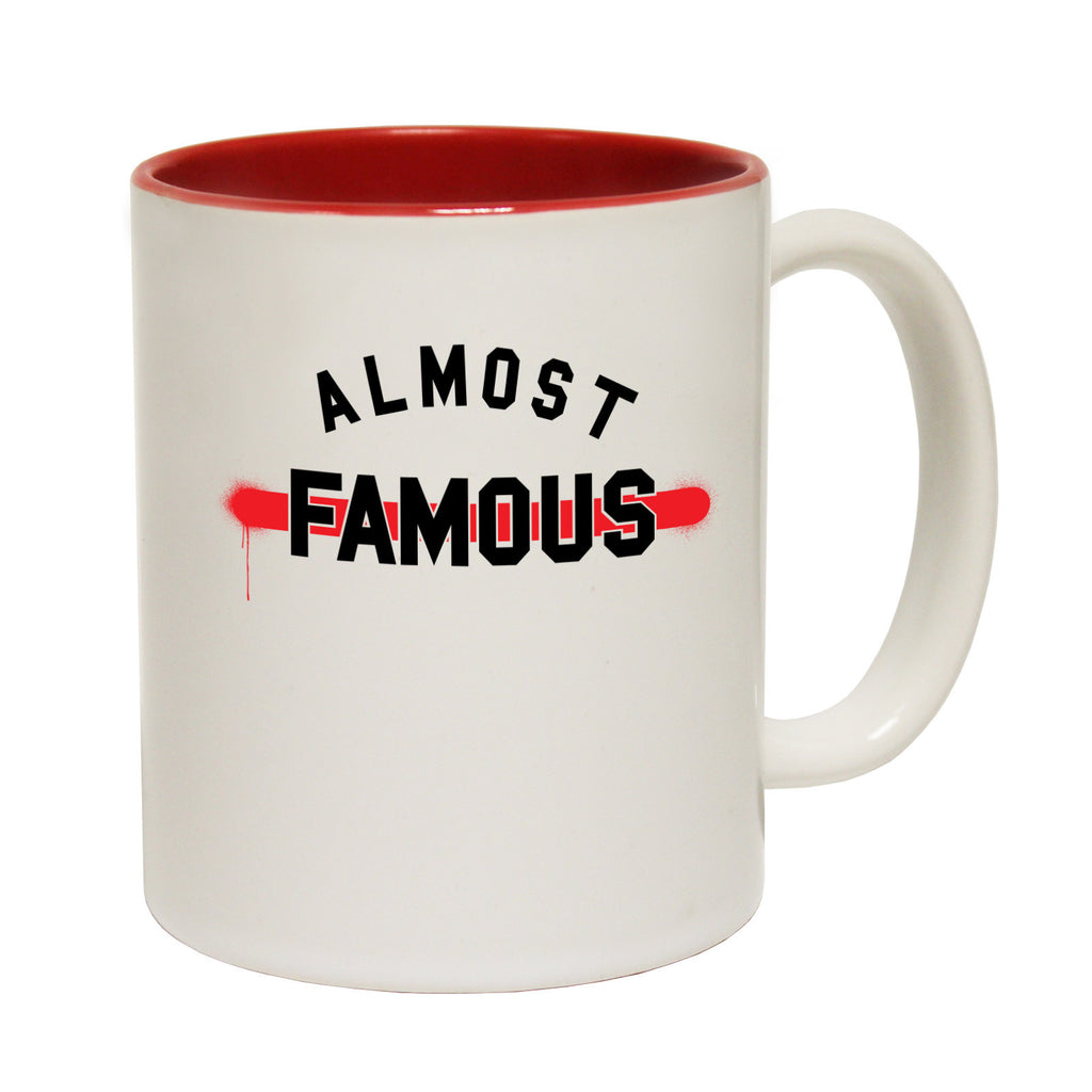 123t Almost Famous Funny Mug - 123t clothing gifts presents