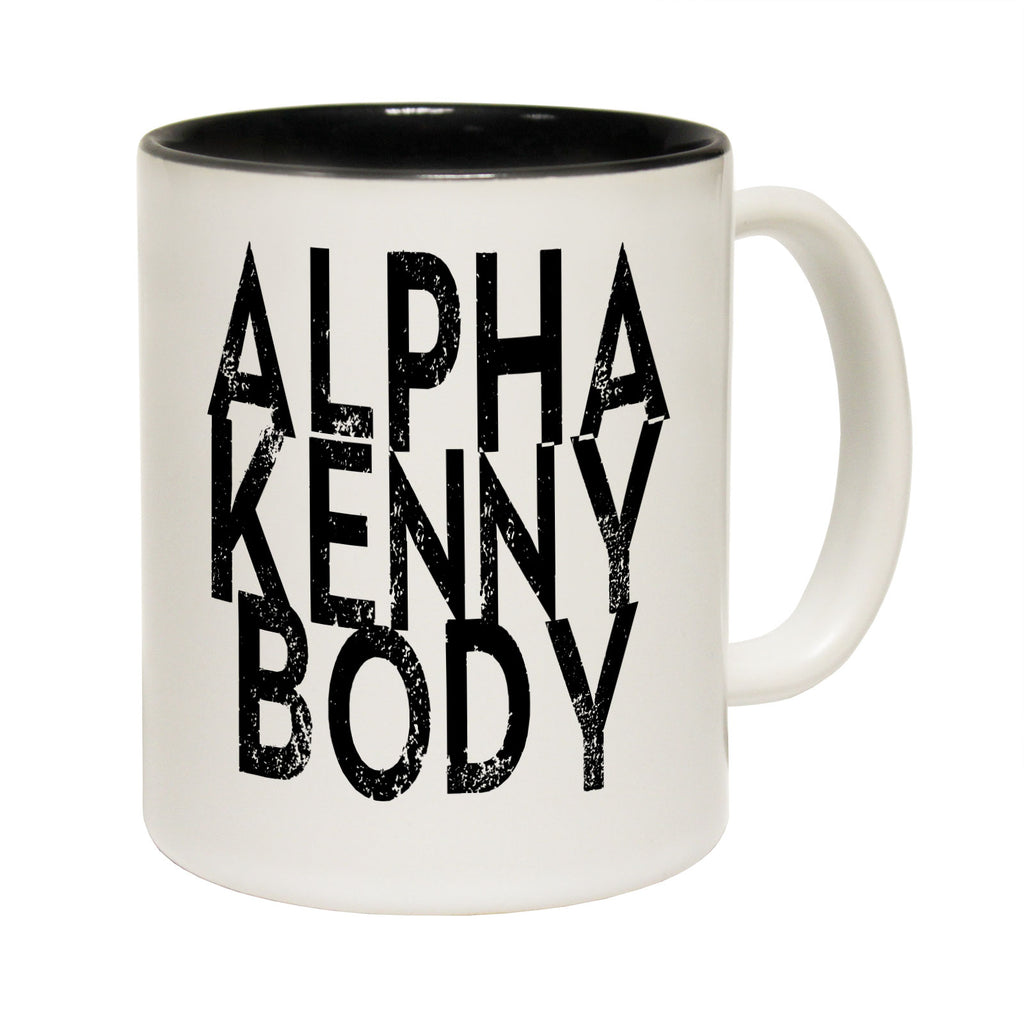 123T Funny Mugs - Alpha Kenny Body - Coffee Cup