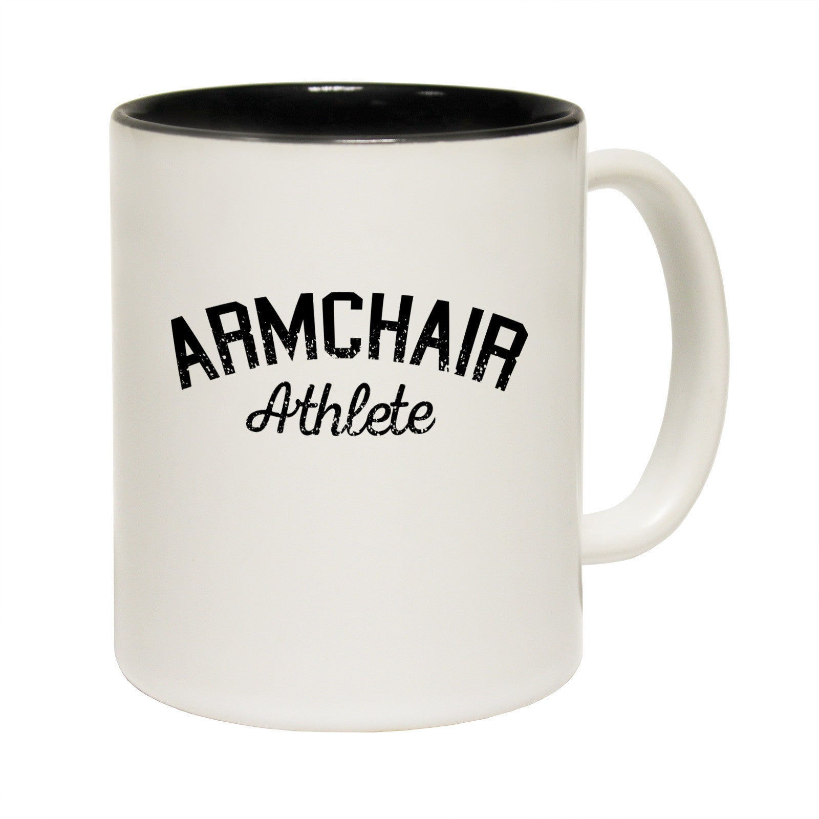 Armchair Athlete Tea Coffee Mug Novelty Couch Potato Lazy ...