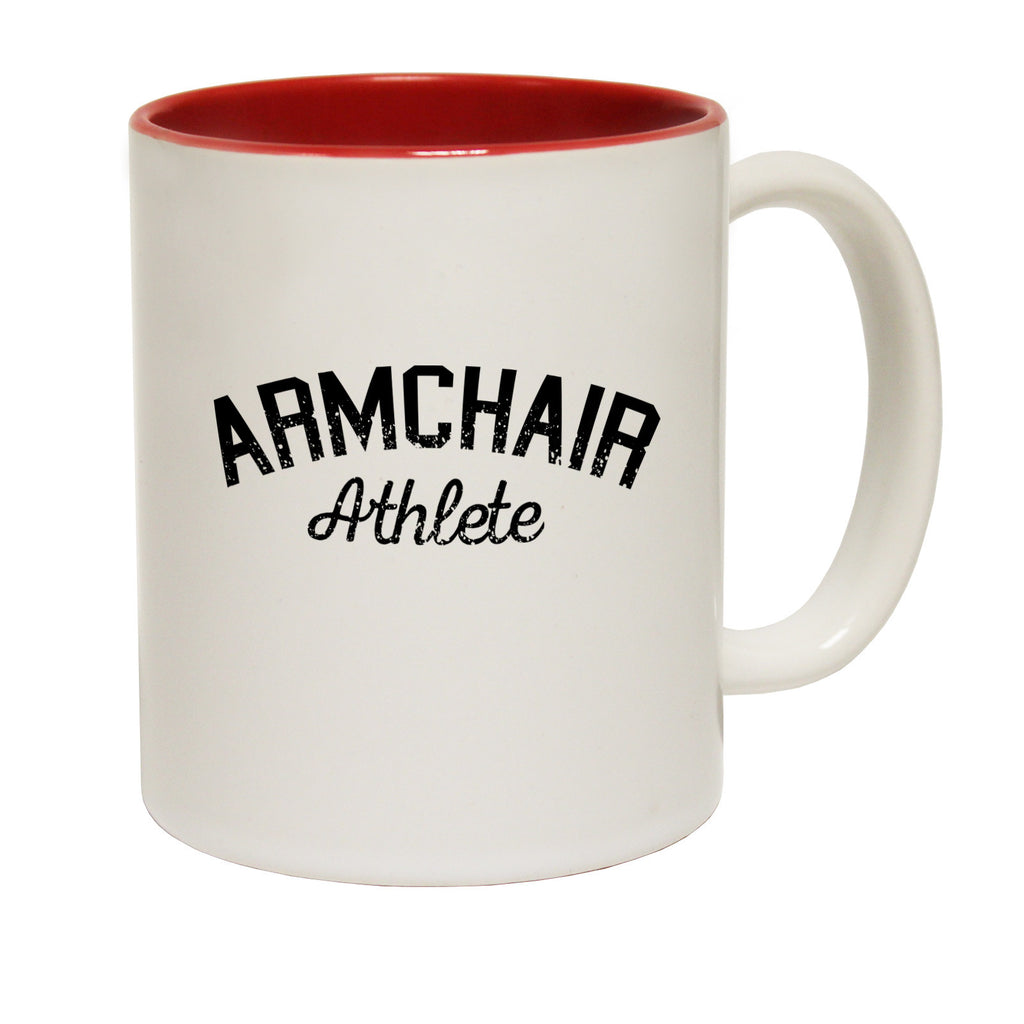 123t Armchair Athlete Funny Mug, 123t Mugs