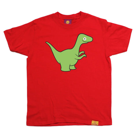 Ani-Mates Velociraptor Dinosaur Kids T-Shirt - Fun Clothes Tees Boys Girls Tops
