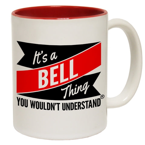 123t New It's A Bell Thing You Wouldn't Understand Funny Mug, 123t Mugs