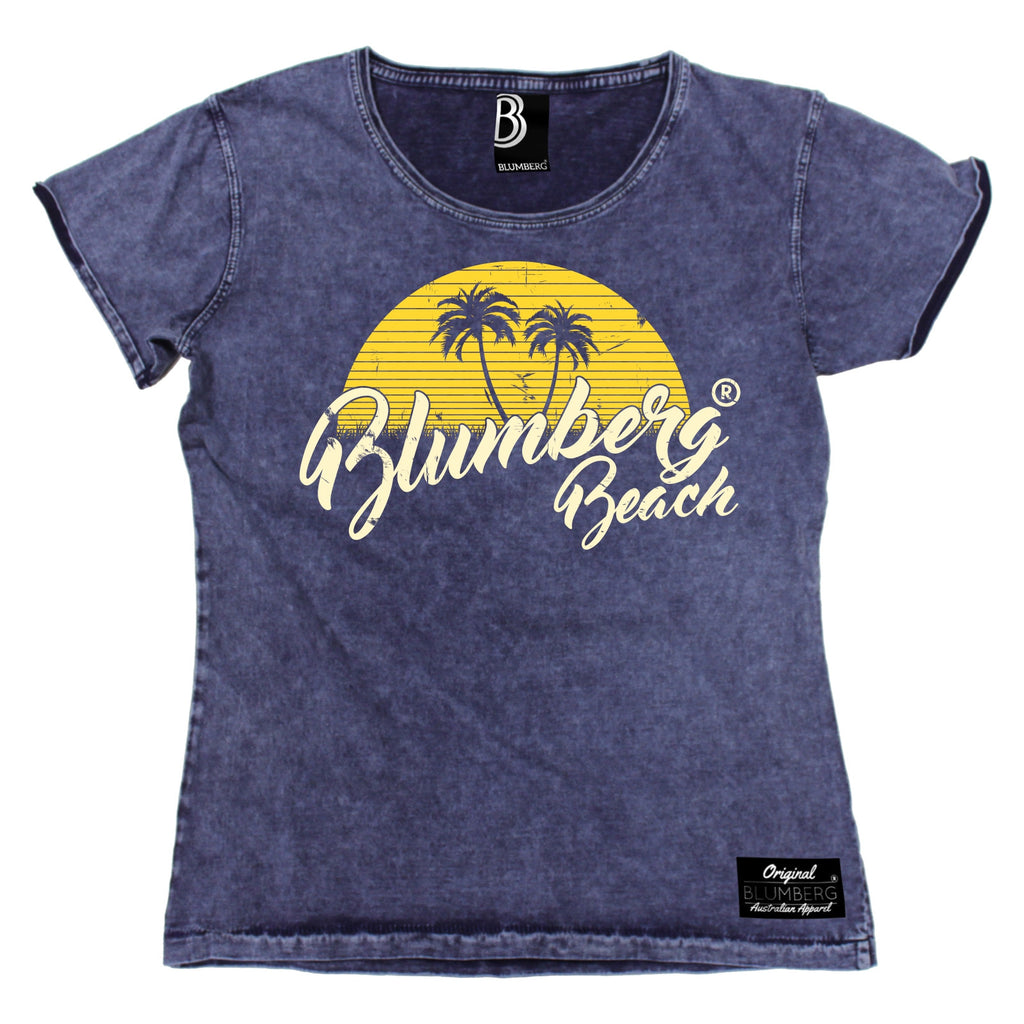 Blumberg Women's Blumberg Beach Premium Denim T-Shirt