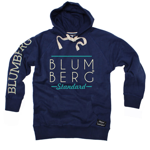Men's Blumberg Standard Cream Large Bold Text - Premium Hoodie