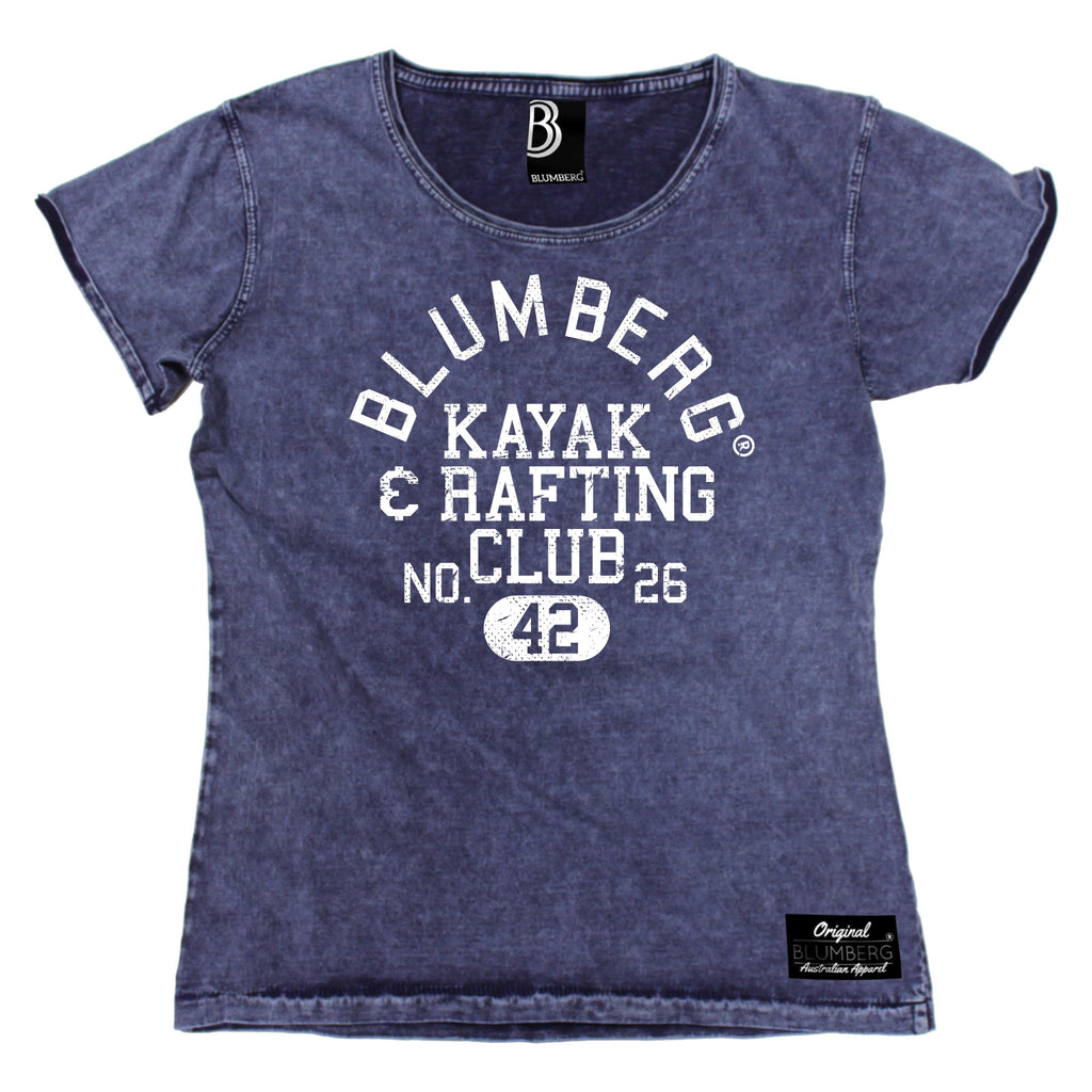 Women's Blumberg Kayak & Rafting Club No. 26 42 Premium Denim T-Shirt