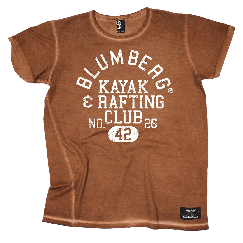 Blumberg Australia Men's Kayak & Rafting Club No. 26 42 Vintage T-Shirt