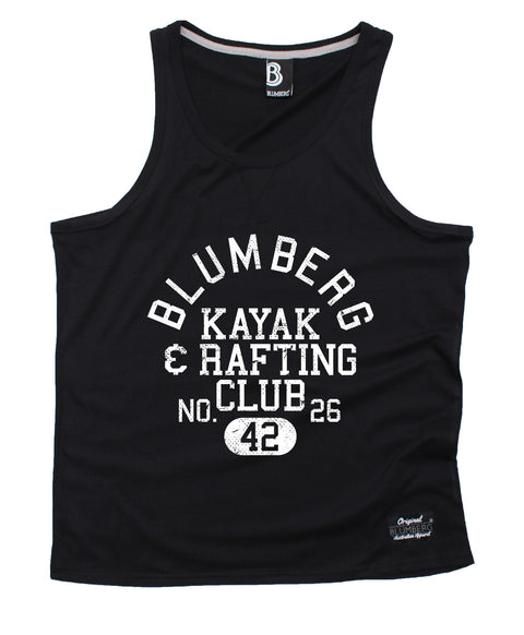 Blumberg Australia Men's Blumberg Kayak & Rafting Club No. 26 42 Premium Vest Tank Top