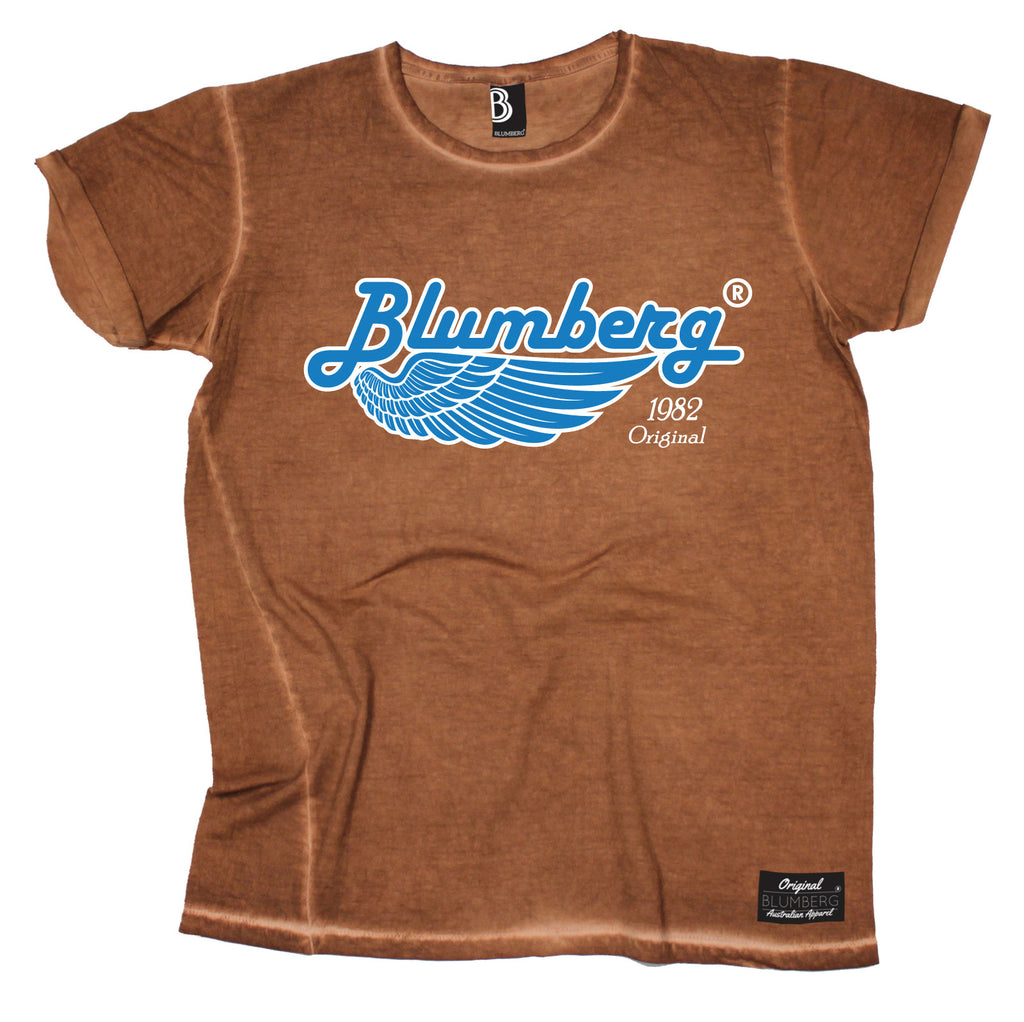 Blumberg Men's 1982 Original Wing Vintage T-Shirt