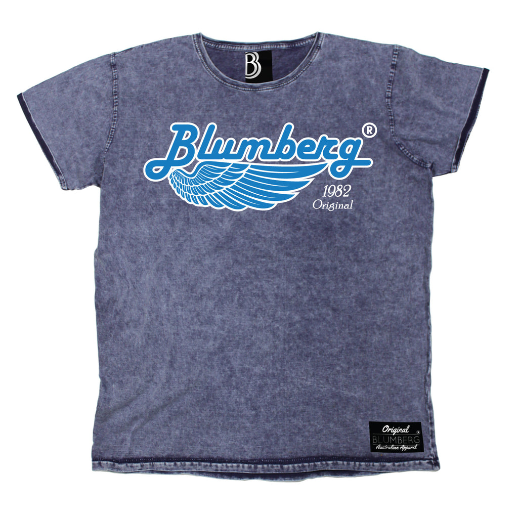 Blumberg Men's 1982 Original Wing Premium Denim T-Shirt