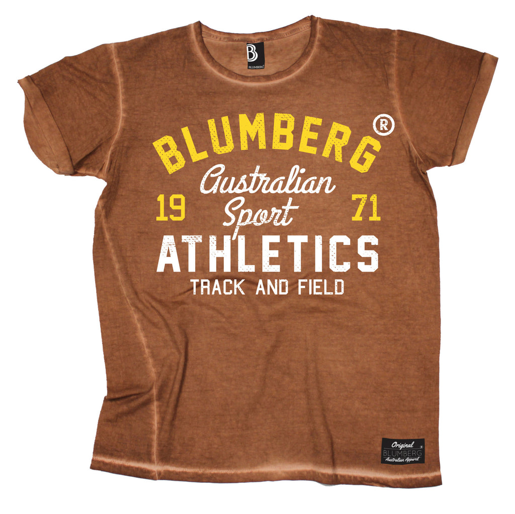 Blumberg Australia Women's Sport Athletics Track And Field 1971 Vintage T-Shirt