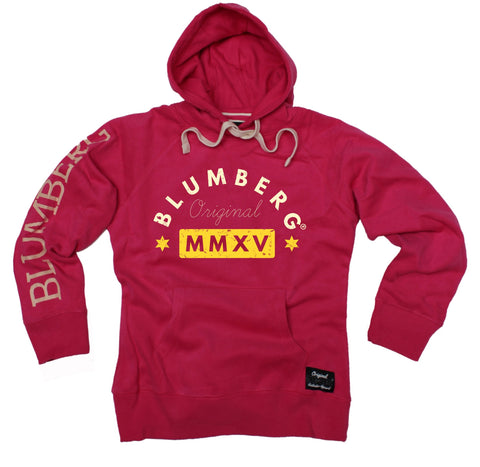 Women's Blumberg Original MMXV Yellow Design - Premium Hoodie