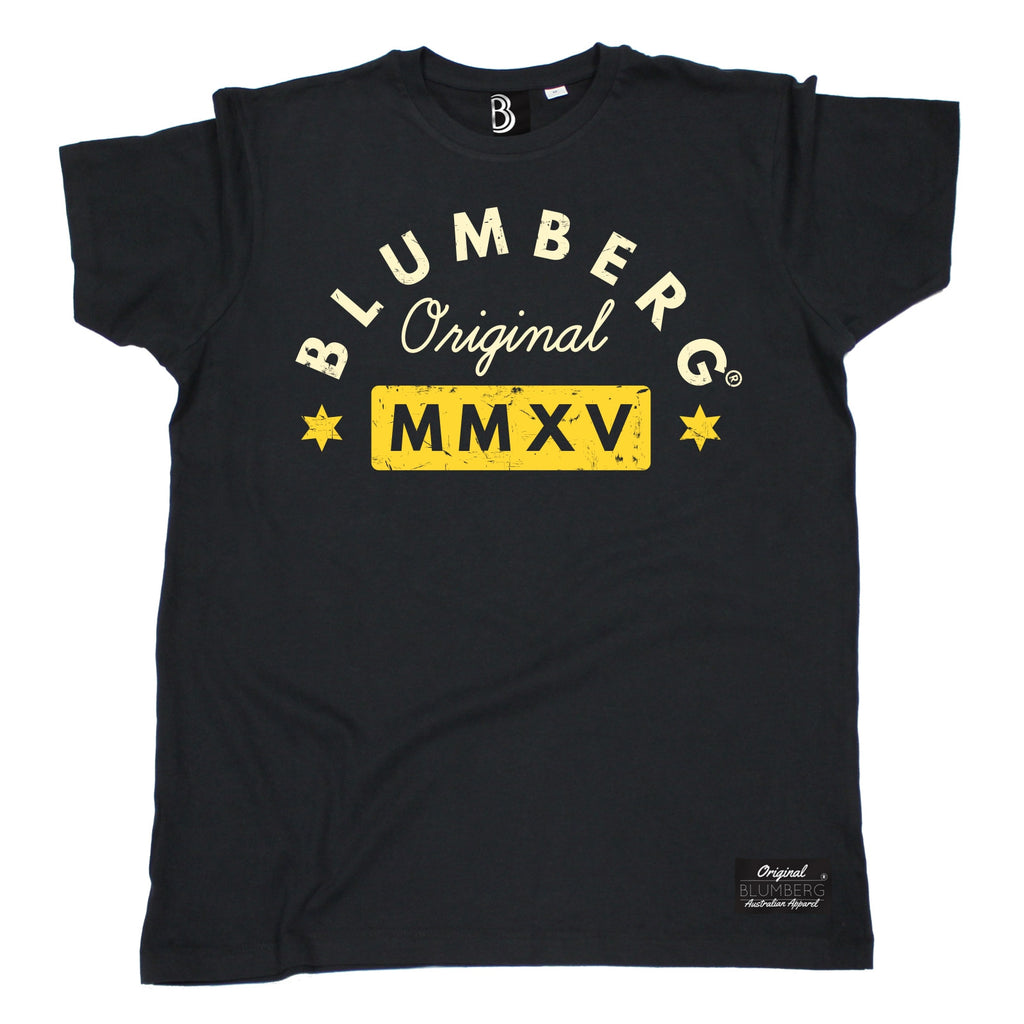 Men's Blumberg Original MMXV Yellow Design Premium T-Shirt