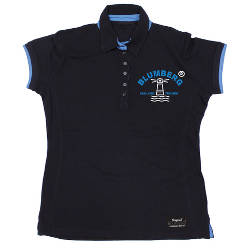 Women's Blumberg Lighthouse Breast Design Premium Polo Shirt