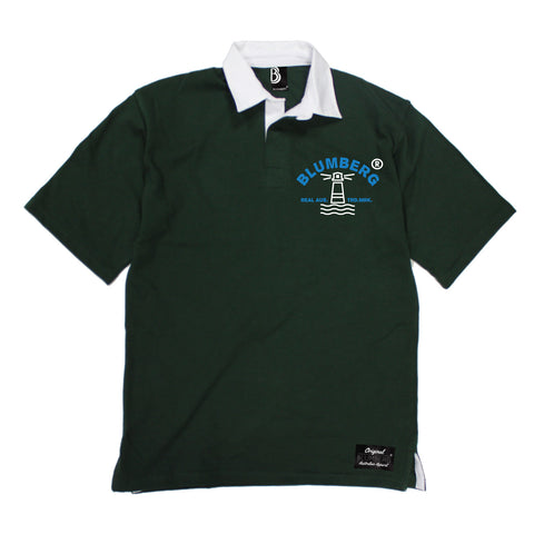 Men's Blumberg Lighthouse Breast Design Premium Rugby Shirt