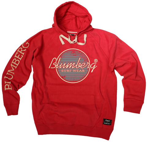 Women's Blumberg Surf Wear Grey Design - Premium Hoodie