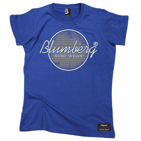 Women's Blumberg Surf Wear Grey Design - Premium T-Shirt