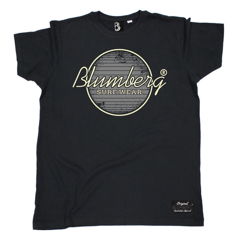 Men's Blumberg Surf Wear Grey Design Premium T-Shirt