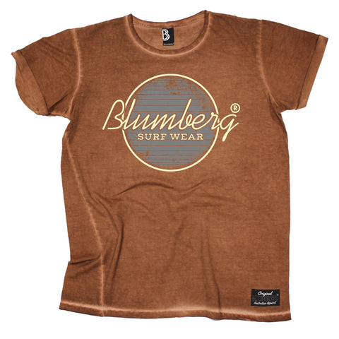 Women's Blumberg Surf Wear Grey Design - Vintage T-Shirt