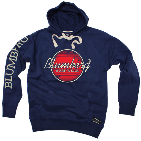 Women's Blumberg Surf Wear Red Design - Premium Hoodie
