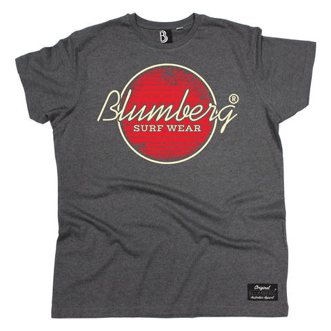 Men's Blumberg Surf Wear Red Design Premium T-Shirt