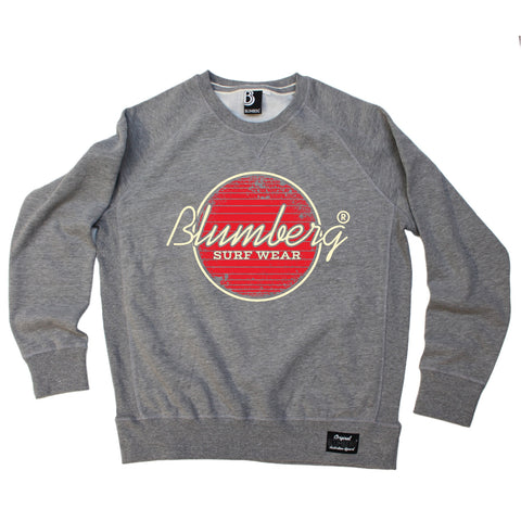 Blumberg Australia Men's Blumberg Surf Wear Red Design Premium Sweatshirt