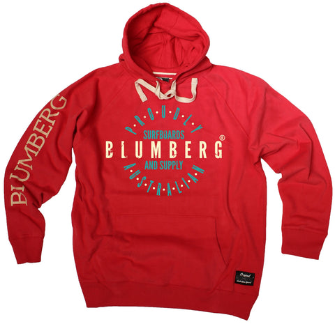 Men's Blumberg Surfboards And Supply Proudly Australian - Premium Hoodie
