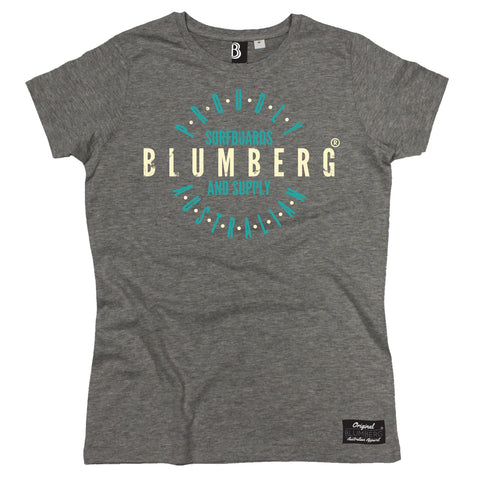 Women's Blumberg Surfboards And Supply Proudly Australian - Premium T-Shirt