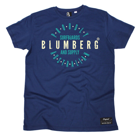 Men's Blumberg Surfboards And Supply Proudly Australian Premium T-Shirt